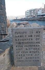 Europe et taureau